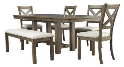 Ashley Moriville 6-Piece Dining Set