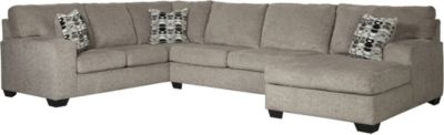 Ashley Ballinasloe Platinum 3-Piece Sectional