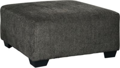 Ashley Ballinasloe Smoke Oversized Ottoman