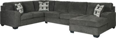 Ashley Ballinasloe Smoke 3-Piece Sectional