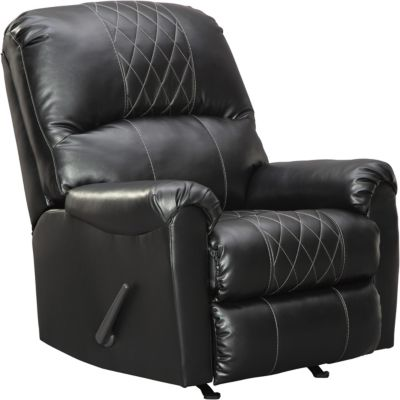 Ashley Bertrillo Black Rocker Recliner
