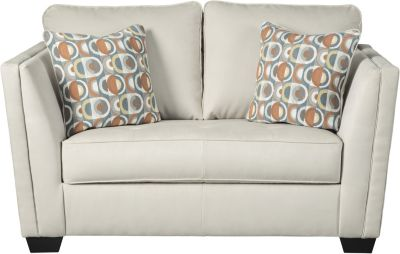Ashley Filone Ivory Loveseat