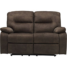 Ashley Bolzano Brown Reclining Loveseat