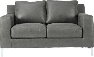 Ashley Ryler Collection Charcoal Loveseat