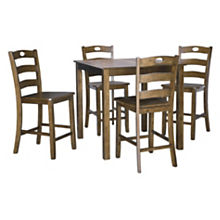 Ashley Hazelteen 5-Piece Counter Set