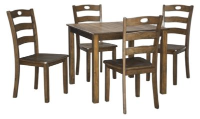Ashley Hazelteen 5-Piece Dining Set