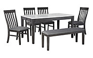 Ashley Luvoni 6-Piece Dining Set
