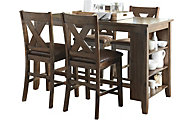 Ashley Chaleny 5-Piece Counter Set