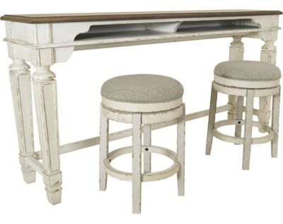 Ashley Realyn 3-Piece Counter Set