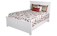 Ashley Bostwick Shoals White King Panel Bed