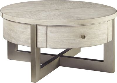 Ashley Urlander Lift-Top Round Coffee Table