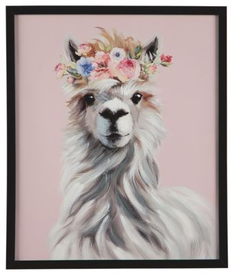 Ashley Accents Josie Llama Wall Art