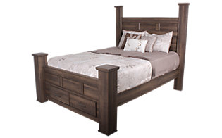 Ashley Juararo King Storage Bed
