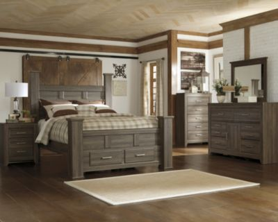Ashley Juararo 4-Piece King Storage Bedroom Set