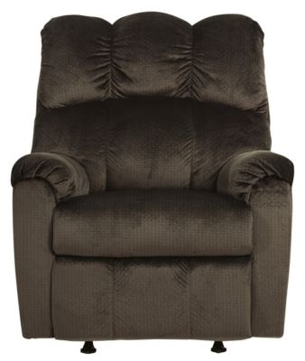 Ashley Foxfield Brown Rocker Recliner