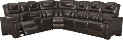 Ashley Warnerton 3-Piece Power Headrest Sectional