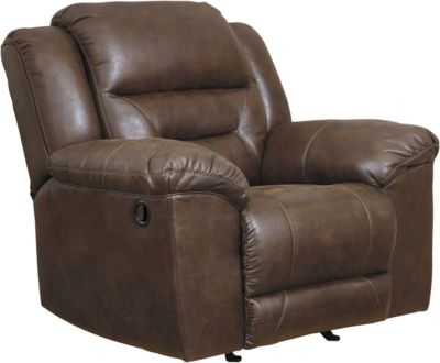 Ashley Stoneland Brown Rocker Recliner