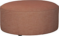 Ashley Almanza Round Accent Ottoman