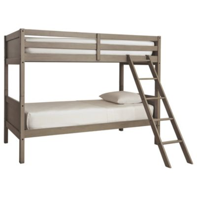 Ashley Lettner Twin/ Twin Bunk Bed with Ladder