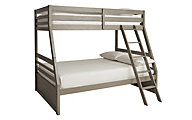 Ashley Lettner Twin/ Full Bunk Bed with Ladder