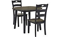 Ashley Froshburg 3-Piece Dining Set