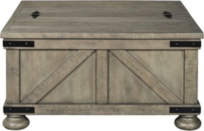 Ashley Aldwin Coffee Table with Storage