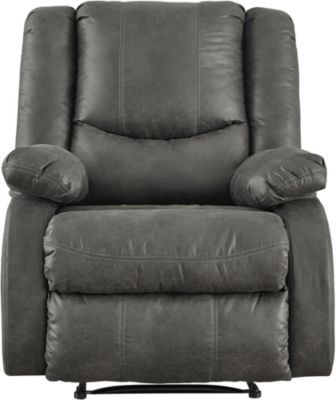 Ashley Bladewood Gray Wall Recliner
