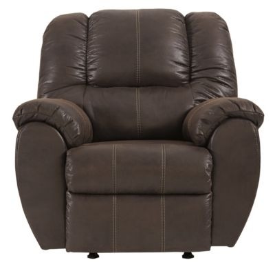 Ashley McGann Brown Rocker Recliner