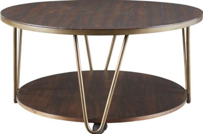 Ashley Lettori Round Coffee Table