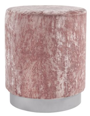 Ashley Lancer Pink Accent Ottoman