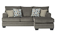Ashley Dorsten Slate Chaise Sofa
