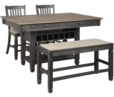 Ashley Tyler Creek 4-Piece Counter Height Dining Set