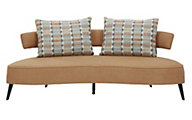 Ashley Hollyanne Rust Sofa