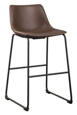 Ashley Centiar Brown Barstool