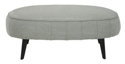 Ashley Hollyann Gray Oversized Ottoman
