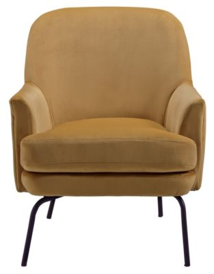 Ashley Dericka Gold Accent Chair