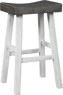 Ashley Glosco White Barstool