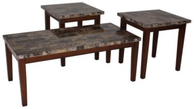 Marvelous Ashley Theo Coffee Table U0026 2 End Tables