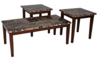 Ashley Theo Coffee Table & 2 End Tables