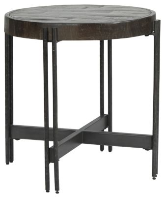 Ashley Haffenburg Round End Table