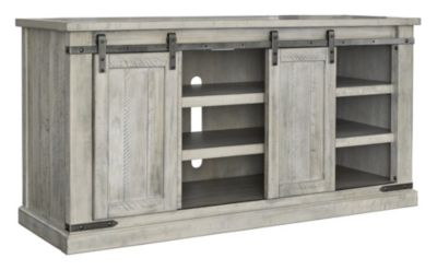 Ashley Carynhurst 60-Inch White Media Console