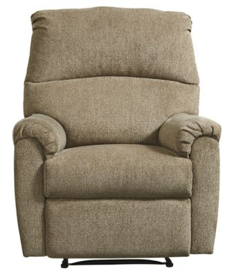 Ashley Nerviano Mocha Wall Recliner