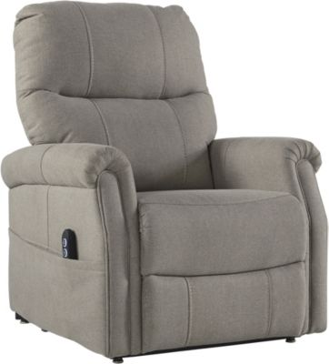 Ashley Markridge Gray Power Lift Recliner