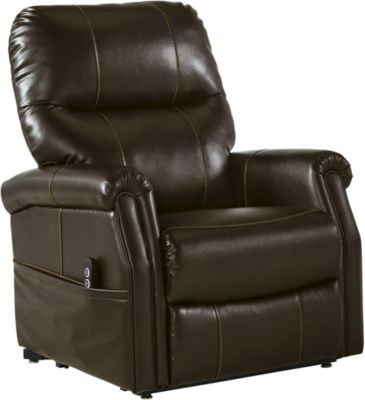 Ashley Markridge Brown Power Lift Recliner