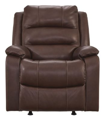 Ashley Wylesburg Leather Rocker Recliner