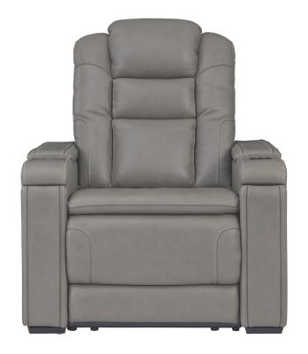 Ashley Boerna Leather Power Motion Recliner