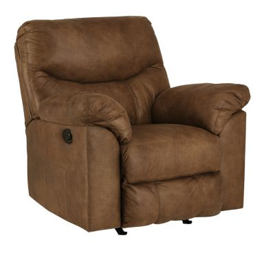 Ashley Boxberg Brown Power Rocker Recliner
