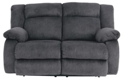 Ashley Burkner Blue Power Recline Loveseat