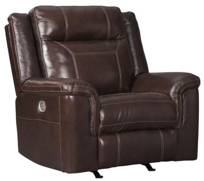 Ashley Wyline Leather Power Motion Recliner