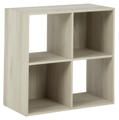 Ashley Socalle Natural Four Cube Organizer